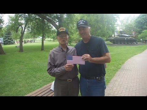 First Division Museum at Cantigny - Thanking The WWII Veterans