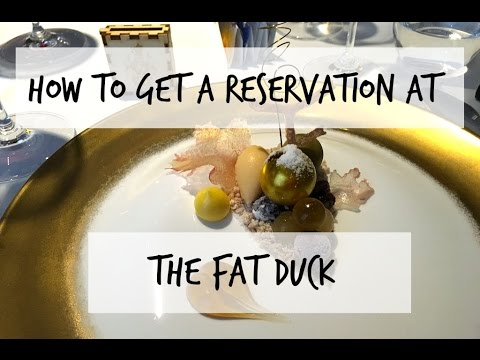 Come with me to The Fat Duck | Feb 2016