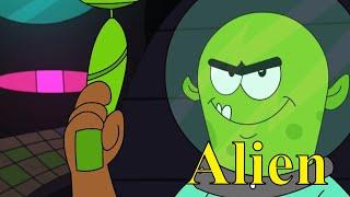Pyaar Mohabbat Happy Lucky - Ep.23   Happy Lucky Aur Alien   Hindi Animated Cartoon Show   ZeeQ