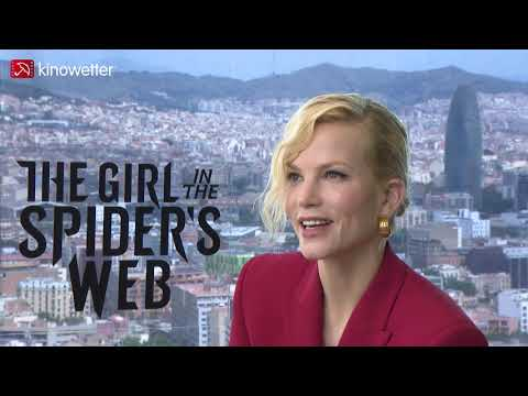 Sylvia Hoeks THE GIRL IN THE SPIDER'S WEB