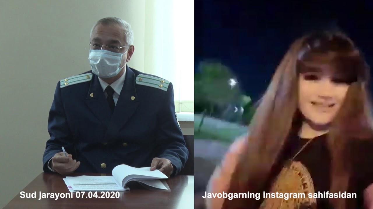 25 soat 12-son «Eplab ko'chada yurgan» Instagram «yulduzchalari» 15 sutkaga qamaldi (07.04.2020)