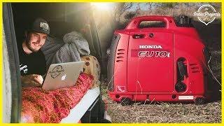 The Best Generator for Van Life - Honda EU10i
