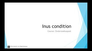 Inus Condition