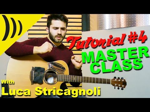 SamJam Tutorial Nr. 4 with Luca Stricagnoli // MASTERCLASS