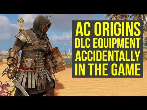 Assassin's Creed Origins New Update ADDS DLC Equipment & Weird Shield Glitch (AC Origins DLC)