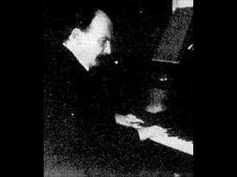 Eugen d'Albert (1864-1932): Chopin - Polonaise in Ab op.53