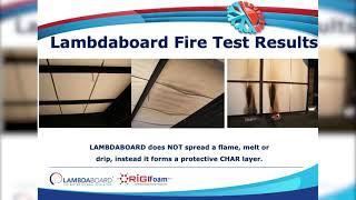 Lambdaboard Fire Test
