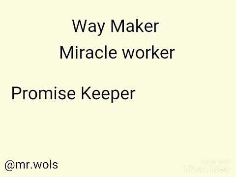 Waymaker Reharmonization/Cover by Mr. Wols (original song by Sinach)