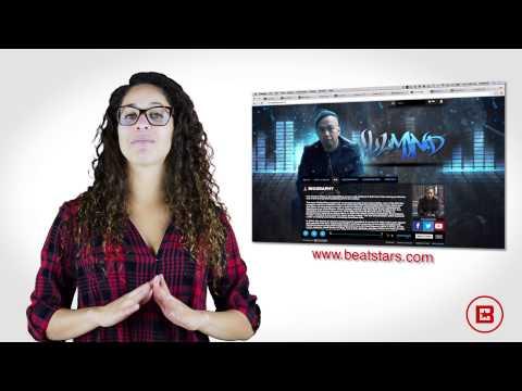 Custom Artist / Producer Site - BeatStars Pro Page Websites