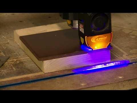 Jtech 7w Laser On Ceramic Tile