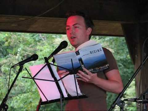 Jason Howard reads about activist Judy Bonds in Something