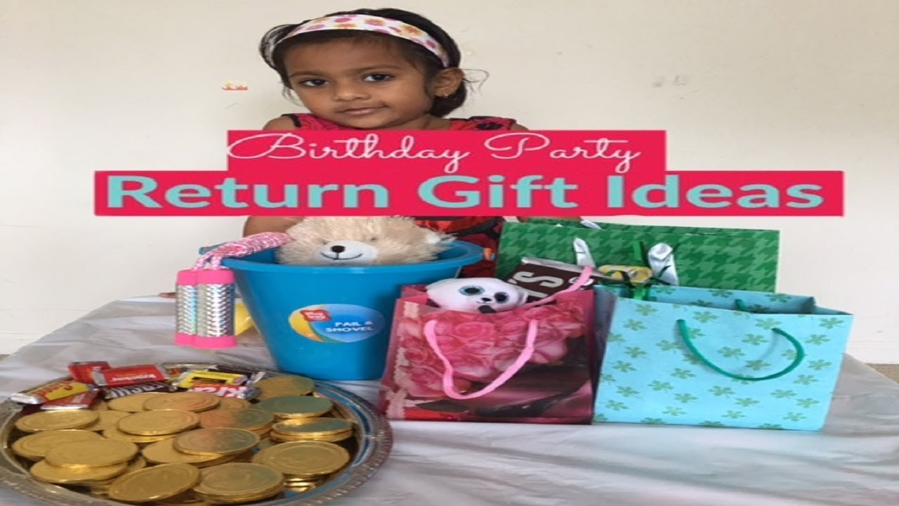 Birthday Return Gift Ideas For Kids