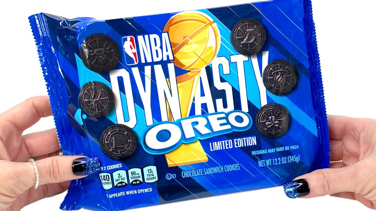 NBA DYNASTY OREOS - Unwrapping