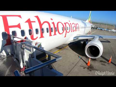 Ethopian Airlines - Addis Ababa to Gaborone Via Victoria Falls