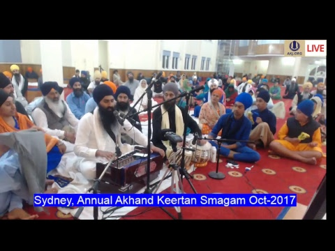 Live Broadcast Sydeny Annual Akhand Keertan Smagam 2-8Oct-2017