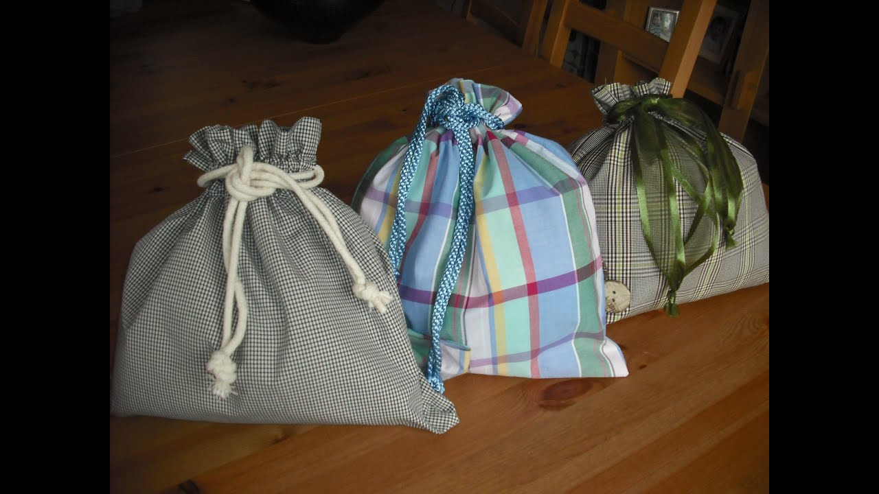 How to make a Drawstring bag...Summer holidays Kids Crafts - YouTube