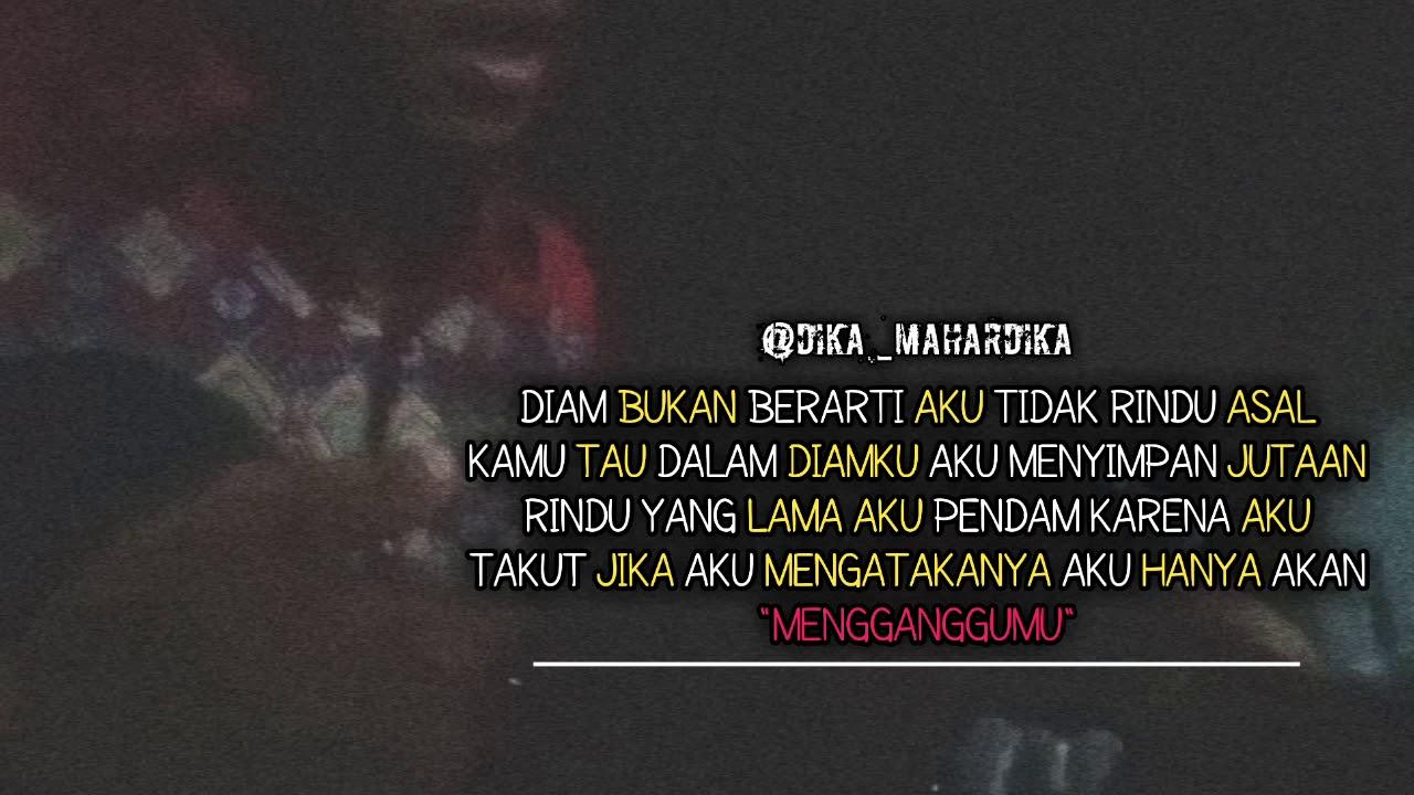 quotes story wa rindu