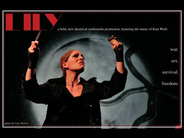 Lily; her life, his music - trailer - featuring the music of Kurt Weill