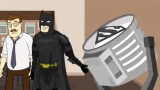 El Caballero de la Noche Conoce a Superman!!!! Fandub Latino!