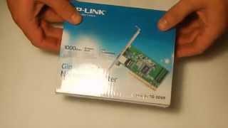 Видео обзор: на сетевую карту TP Link TG3269 1Gig