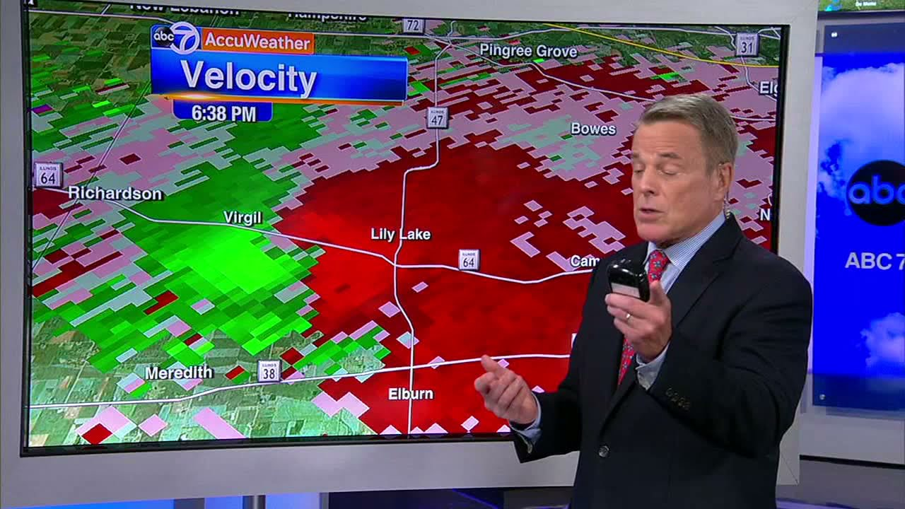 Chicago weather: Tornadoes reportedly touch down in DeKalb ...