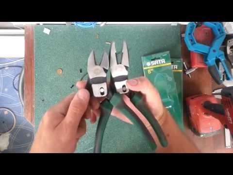 энергосберегающий инструмент SATA (пассатижи и бокорезы)