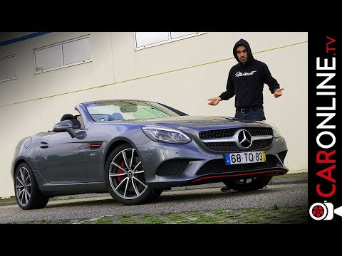 PARA que SERVE um ROADSTER DIESEL? | MERCEDES-BENZ SLC 250d [Review Portugal]
