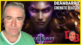 StarCraft II - Heart of the Swarm - Opening Cinematic REACTION