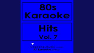 Sara (In the Style of Starship) (Karaoke Version)