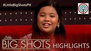 Elha, ikinuwento ang kanyang experience sa Little Big Shots US