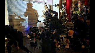 """8/12 时事大家谈:美中香港交锋升级:""""流氓政权""""还是""""强盗逻辑""""?"""