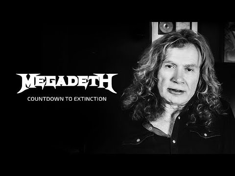 Megadeth - Dave Mustaine Talks Countdown to Extinction Thumbnail image
