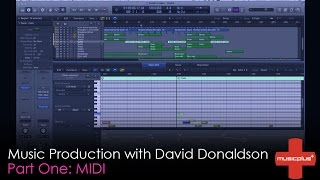 Music Plus // Music Production Tutorial with David Donaldson (Part 1 | MIDI)