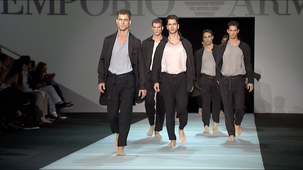 Image result for Armani spring Menswear 2011