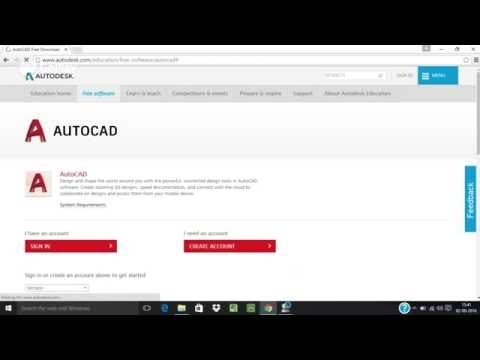 AutoCAD 2014/15/16/17 Original Free Download form AutoDesk