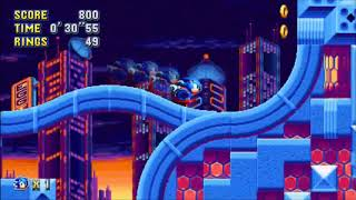 "Sonic Mania (PC) - Studiopolis 1 Sonic: 41""46 (Speed Run)"