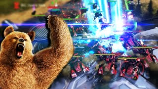 So we did a Grizzly Tank rush as fast as possible...Halo Wars 2 YouTube Videos