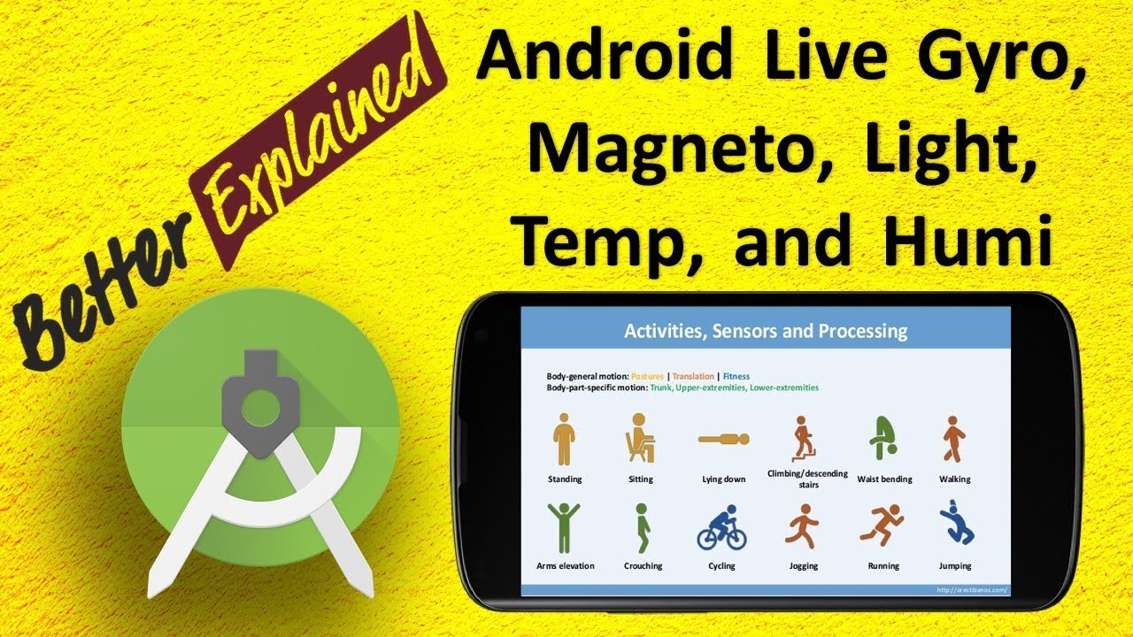 Android Gyroscope Magnetometer Light Temperature Humidity