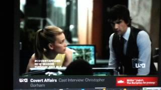 C O V E R T A F F A I R S: Christopher Gorham (Cast Interview. Season 4)