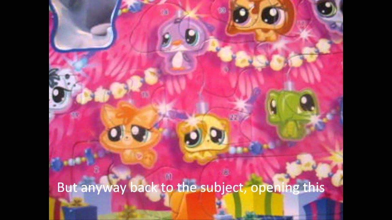 littlest pet shop advent calendar 6 youtube