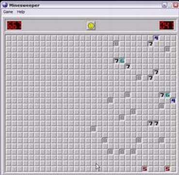 Minesweeper - Clearing 667 Mines
