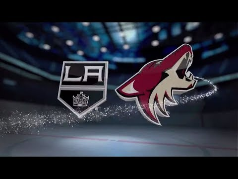 Los Angeles Kings vs Arizona Coyotes - November 24, 2017 | Game Highlights | NHL 2017/18.Обзор матча