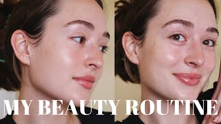 My Beauty Routine Brows Nails Hair Skin Care at Home