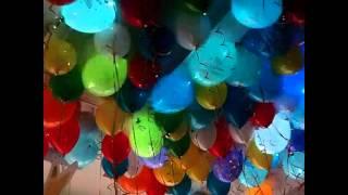 светящиеся шарики на день рождения.(заказать шарики в Киеве 0635782482., 2014-11-07T06:27:38.000Z)