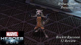 Marvel Heroes: Rocket Raccoon 52 Rework Review