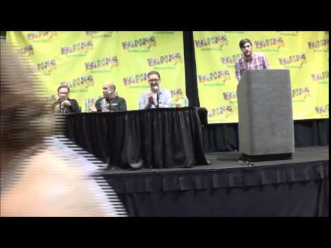 Billy West George Lowe Tom Kenny Sunday Panel @ Tampa Bay Comic Con 2015