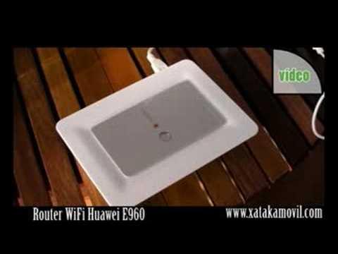 Router WiFi Huawei E960 De Vodafone