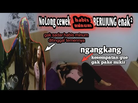 CEWEK INI DI TINGGAL SENDIRI GUE TOLONGIN SAMPAI SEWAIN KOSAN MENANG BANYAK || MOTOVLOG INDONESIA