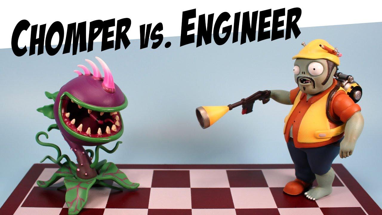 Plants vs zombies garden warfare chomper engineer - Plants vs zombies garden warfare toys ...