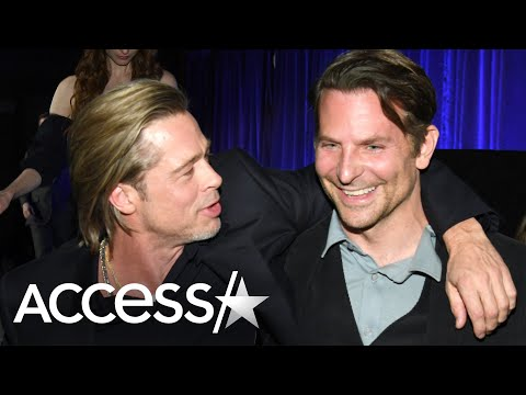 Zito - Brad Pitt Credits Bradley Cooper For His Healthy Lifestyle